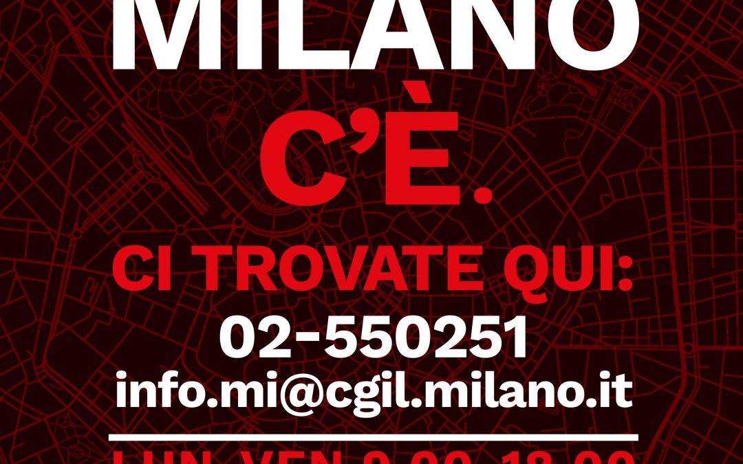 LA CGIL DI MILANO C'E'  02.550251